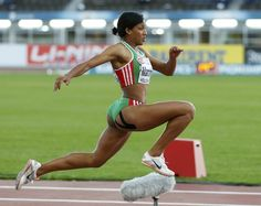 the female form when associated with sport and fitness Fit Black Women, Black Girls, Portugal, European Championships, Female Form, Female Athletes, Running, Fitness, Sports