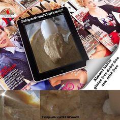 ♥Fabipasticcio:My Almond butter gluten free dairy free cow milk free Burro di mandorle naturalmente senza glutine senza lattosio