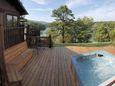 VRBO.com #238472ha - Cedar Cabin at Silver Bay View Cottages on Smith Mountain Lake