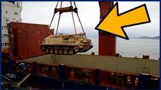 Estados Unidos envia Blindados e Tanques para o Brasil