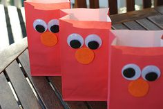 So along with Valentine's Day and the Superbowl my little niece Brooke is turning 2 this month! I'm helping plan her Elmo birthday party. Elmo Birthday, Boy Birthday Parties, My Little Nieces, Little Ones, Elmo Party, Valentine Treats, Kids Learning Activities, Treat Bags, Envelopes