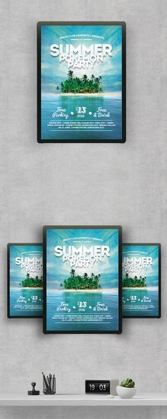 "Check out this @Behance project: ""Summer Flyer"" https://www.behance.net/gallery/42124165/Summer-Flyer"