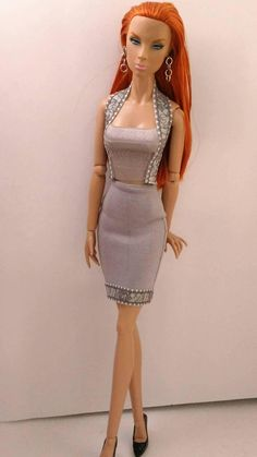 16 inch fashion doll 2 pc set is one size fits all same size