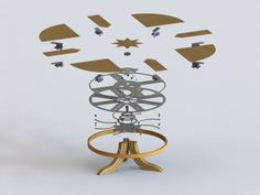 Creative Design Of Expandable Round Dining Table