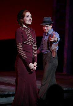 Jeremy Jordan and Laura Osnes in Bonnie and Clyde Bonnie And Clyde Musical, Bonnie And Clyde Photos, Bonnie Clyde, Bonnie And Clyde Costume, Abandoned Castles, Abandoned Mansions, Abandoned Places, Laura Osnes, Bonnie Parker