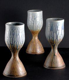 Hank Goodman Stoneware Goblet