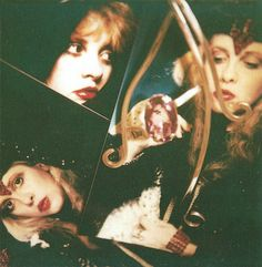 I believe this was from the 'Wild Heart' tour book -- Stevie Nicks Stevie Nicks Fleetwood Mac, Go Your Own Way, Rock Artists, Beautiful Voice, Wild Hearts, Her Style, Love Her, How To Memorize Things, Singer