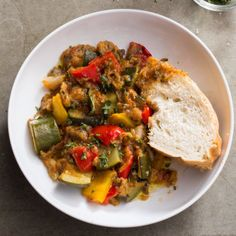 America's Test Kitchen Walk Away Ratatouille - Time consuming but super delicious!