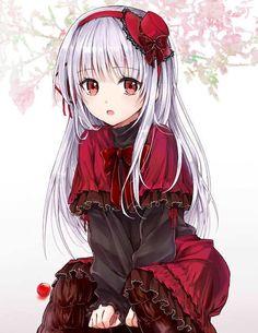 Anna Kushina Anime: K Project Anime Neko, Kawaii Anime Girl, Fnaf Anime, Manga Kawaii, Loli Kawaii, Pretty Anime Girl, Chica Anime Manga, Beautiful Anime Girl, Anime Art Girl