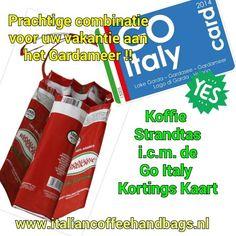 Vergeet niet om een Go Italy Card aan te schaffen als je dit jaar naar het Gardameer op vakantie gaat. Voor slechts € 15,- en die verdien je heel snel terug. Nu al te bestellen (bij voor intekening) via info@italielinks.nl zodat je medio April 2014 bij de eerste hoort die de kaart in huis krijgt!