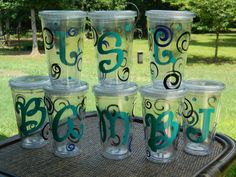 Personalized Acrylic Cup/Tumbler for your weekend getaway, gift, someone special, just to say thanks, bridesmaids, double walled, custom via Etsy