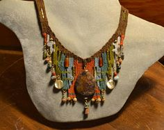 Jasper Woven Necklace 848