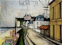 La ville by Bernard Buffet