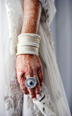 encapture:  Already planning my wedding.  I'm such a fan of wedding mehndi. This is beautiful. I don't think people would understand if I did something like this, though.I think maybe I'll get it done on my feet instead, maybe see if my bridesmaids will take part too? That way it won't be so noticeable, but I'll still know it's there.