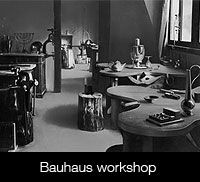 Direct artists into a new machine age by marrying art and industry. The process started in 1897 with Art & Craft workshops in Germany and ended in Bauhaus is not unique. Bauhaus Interior, Bauhaus Architecture, Architecture Design, Bauhaus Design, Bauhaus Art, Metal Workshop, Workshop Design, Walter Gropius, Cover Design