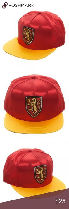 I just added this listing on Poshmark: House Gryffindor - Harry Potter Satin Snapback Hat. #shopmycloset #poshmark #fashion #shopping #style #forsale #Bioworld #Accessories