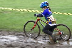 Cyclocross: the perfect excuse for a kid to play in the mud! Mud, Bicycle, Play, Bicycle Kick, Bike, Bicycles