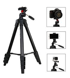 Tripod Phone tripod camera tripod iStabilizer traveler Tripod with Ball HeadPhone AdapterGopro AdapterQuick Release PlateTripod Bag for CameraSmartphones and Gopro * You can get additional details at the image link.