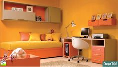 Tutta la vivacità del colore arancione
