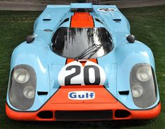 Steve McQueen's Porsche 917K from the 1971 film Le Mans