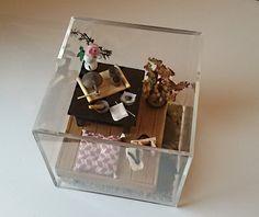 cube décoratif : La cérémonie du thé japonaise : Accessoires de maison par deckat-deco