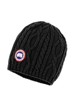 Merino Cable Knit Beanie | Canada Goose