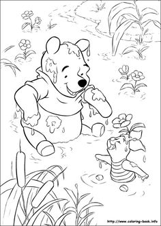 Coloring Winnie The Pooh Pages Book I With Piglet 114 Pictures To Print And Color Last Updated December