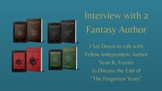 "I'm branching out into Author Interviews on my blog, and @TheCleftonTwain was nice enough to be my guinea pig.  I'm personally a big fan of his ""Forgotten Years"" fantasy novels, and you should be too.  Give the interview a read and then buy his books."