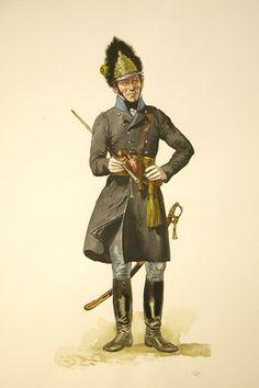 Ufficiale dei granatieri austriaco