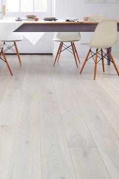 Galleria Professional Engineered European Rustic Oak Flooring x Winter Dawn Lacquered