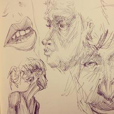 Drawing, Studies, Sketches