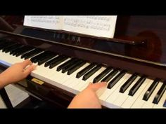 Although Joanna has limited use of hands, she has disciplined herself to play the piano with two fingers. Watch her play!