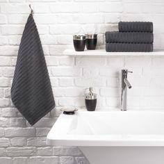 Urbanite Rib Towel - Charcoal