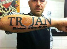 trojan skins tattoo