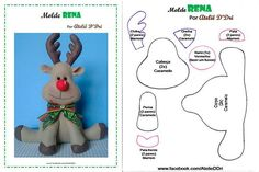 Hobbies To Relieve Stress All Things Christmas, Christmas Time, Christmas Wreaths, Christmas Ornaments, Dyi Crafts, Felt Crafts, Crafts To Make, Christmas Templates, Christmas Projects