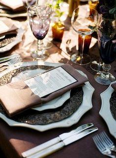 Sophisticated, Purple, Farm Wedding - Brook Paul