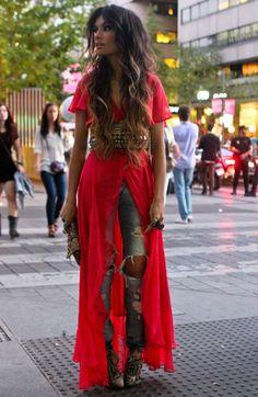 Angela Rozas, Madame de Rosa Fashion Blogger.