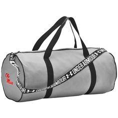 Ole Miss Rebels Under Armour Favorites Performance Duffel Bag - Steel - $42.99