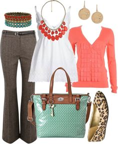 """what i wore today (work) - 3/7/12"" by htotheb on Polyvore"