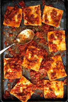 Spinach and Ricotta Ravioli...
