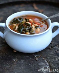 Hearty Tuscan Bean Soup | 23 Easy Five-Ingredient Dinner Recipes