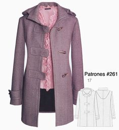 Coat Sewing Patterns | Edit: I've just had a look at the fabric layout now that I'm at ...