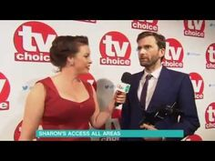 VIDEO: David Tennant Talks Topless Acting At The TV Choice Awards