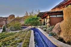 "This north Scottsdale home embraces the desert while others push it aside.  ""A normal house is designed to shield you from the environment,"" said owner Bryan Beaulieu.  Instead, Bryan's family created their three-bedroom as an experiment in indoor/outdoor sustainable living."