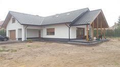 Dom Arte – zdjęcia z budowy Home Renovation, Outdoor Structures, Outdoor Decor, Home Decor, The Beach, Model, Cottage, Facade House, Decoration Home
