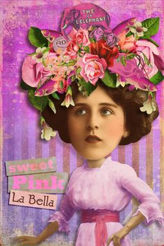 La Bella by Mary Bailey. Created with images from Tumble Fish Studio available at DeviantScrap.