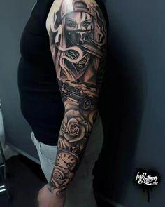 58 ideas tattoo for boys arm ideas life … – tattoos for women half sleeve Full Sleeve Tattoos, Sleeve Tattoos For Women, Tattoo Sleeve Designs, Tattoo Designs For Women, Chicano Tattoos Sleeve, Fake Tattoos, Trendy Tattoos, Body Art Tattoos, Tattoos For Guys