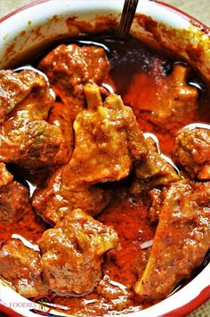 Rajasthani Junglee Maas, a 100 yrs old recipe is slow cooked with a secret home-made masala paste. Get to know the step by step method of cooking Junglee Maas in the old world style. Indian Chicken Recipes, Easy Indian Recipes, Lamb Recipes, Veg Recipes, Curry Recipes, Asian Recipes, Cooking Recipes, Ethnic Recipes, Delicious Recipes