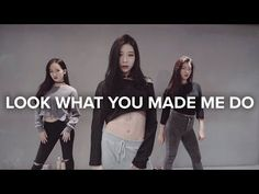 Look What You Made Me Do - Taylor Swift / Tina Boo Choreography - YouTube