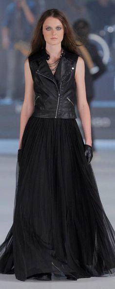 #080Mango moda mujer en negro